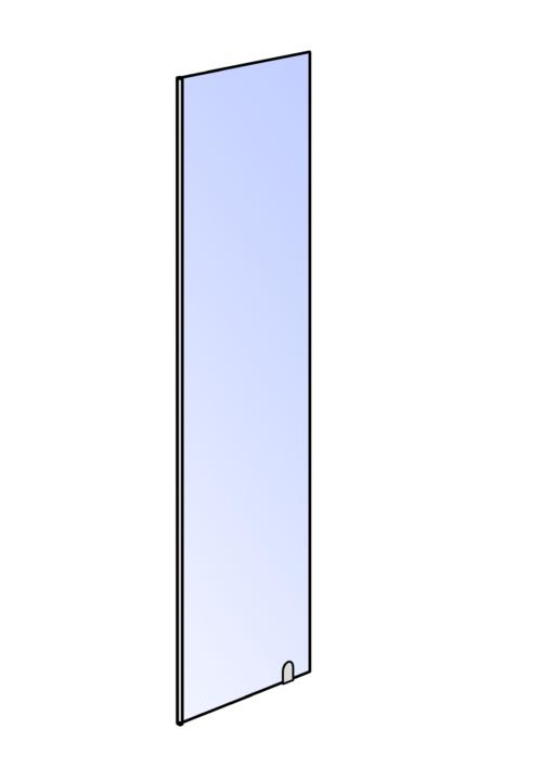 Spatwand Verona 30 cm of 40 cm