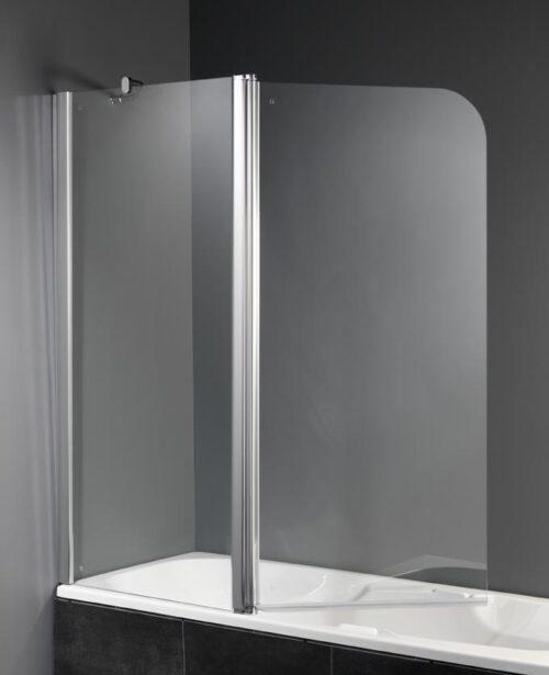 Trento 2-delig badscherm 140 x 150 cm.