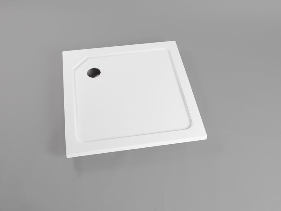 Vierkant model vlakke douchebak