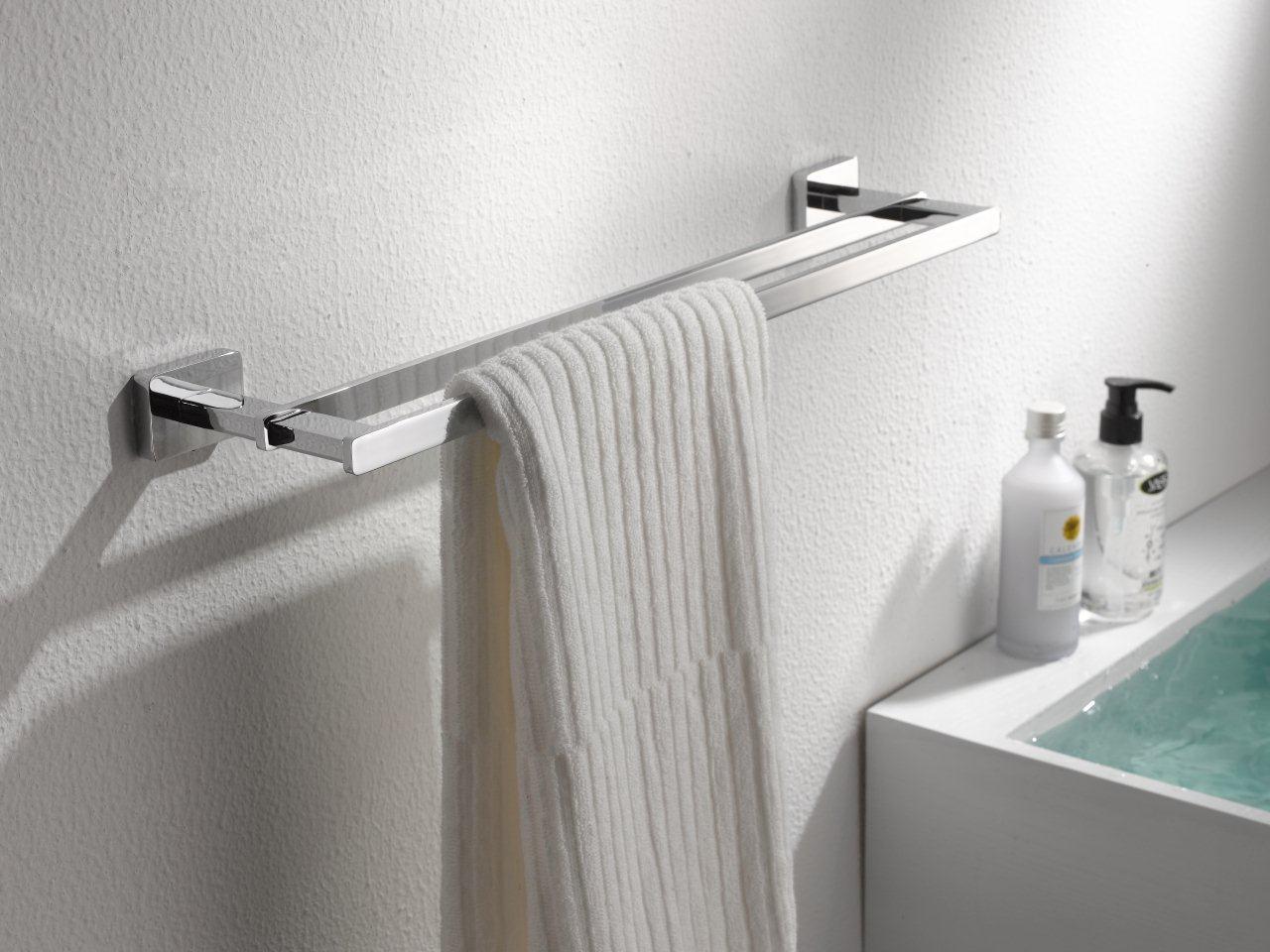 Handdoekrek vierkant model - Model badkamer douche ...