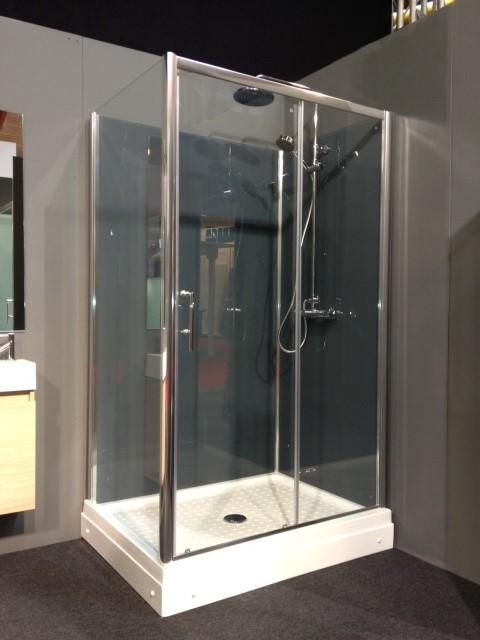 Complete rondom gesloten douchecabine
