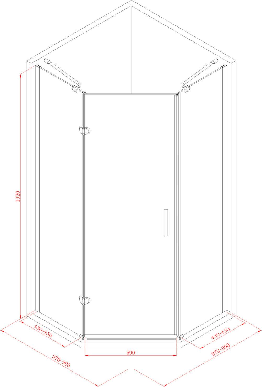 douchecabine-vijfhoek-1-deur-100