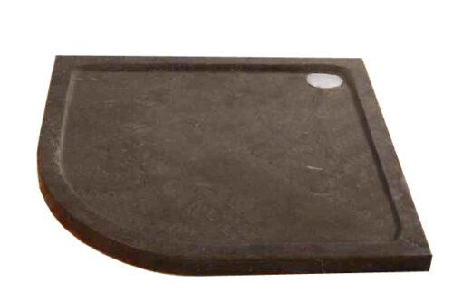 Natuursteen (hardsteen) douchebak kwartrond model