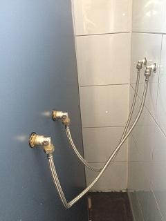 Flexibele wateraansluiting