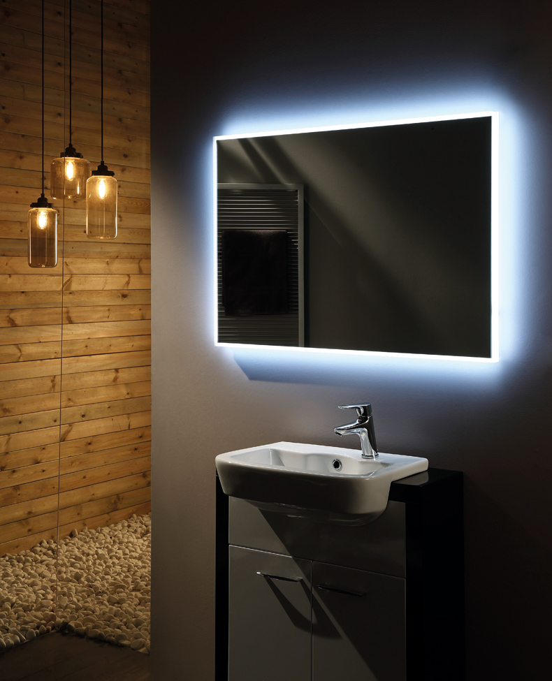 Badkamer spiegel Infinity - Douchecabine.nl