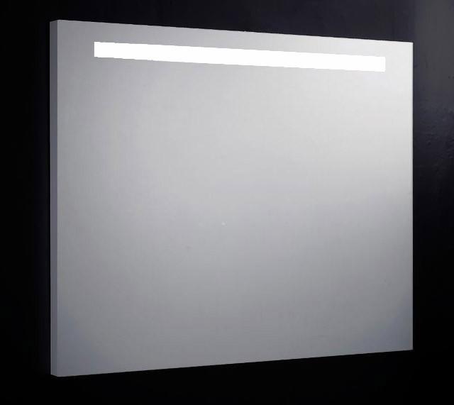 Badkamer spiegel met TL verlichting - Douchecabine.nl
