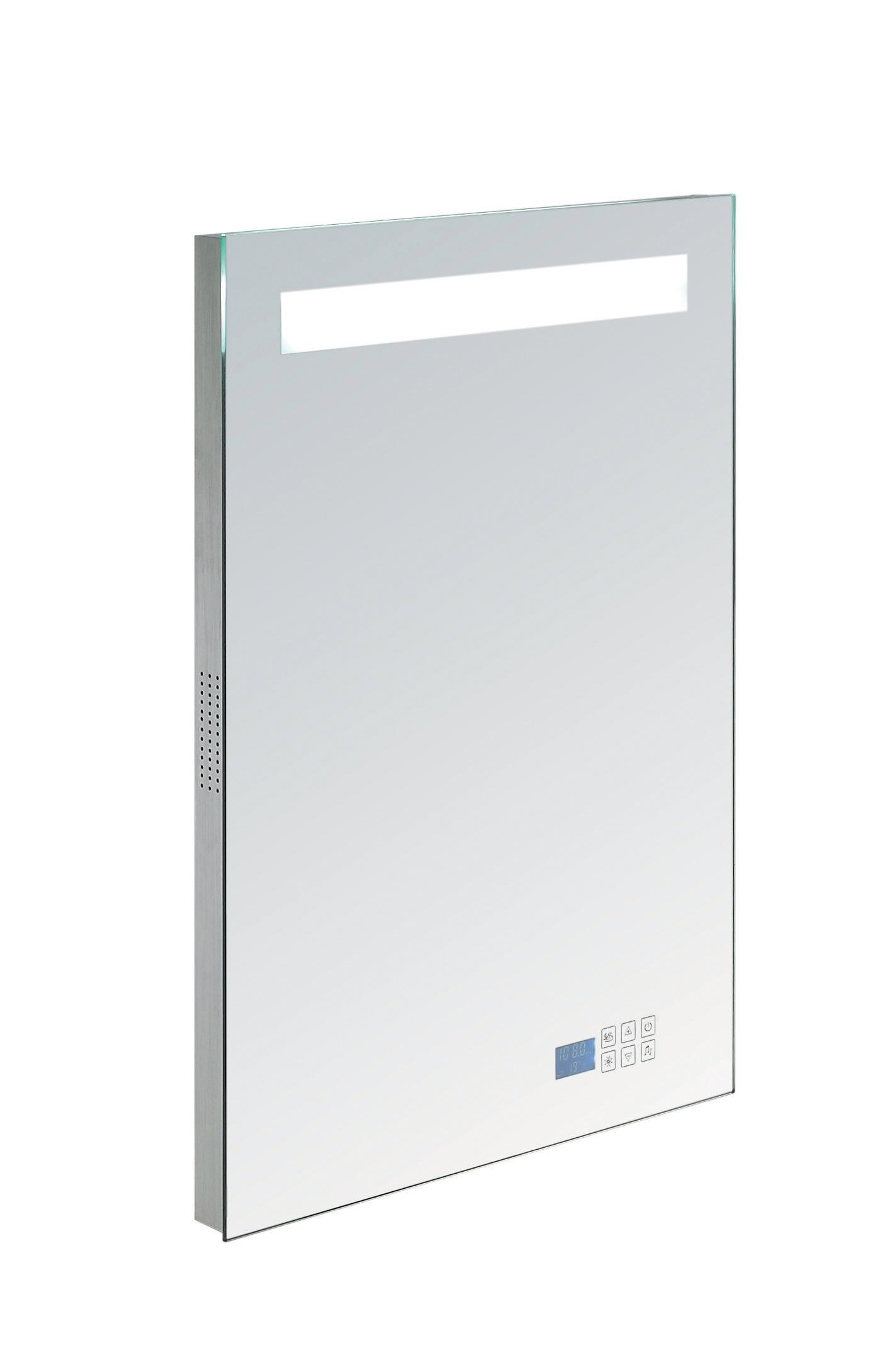Badkamer spiegel met Bluetooth, verlichting en radio | Douchecabine.nl
