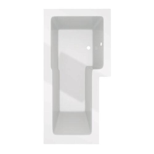 Douchebad Trento Recto 150.R zonder badwand