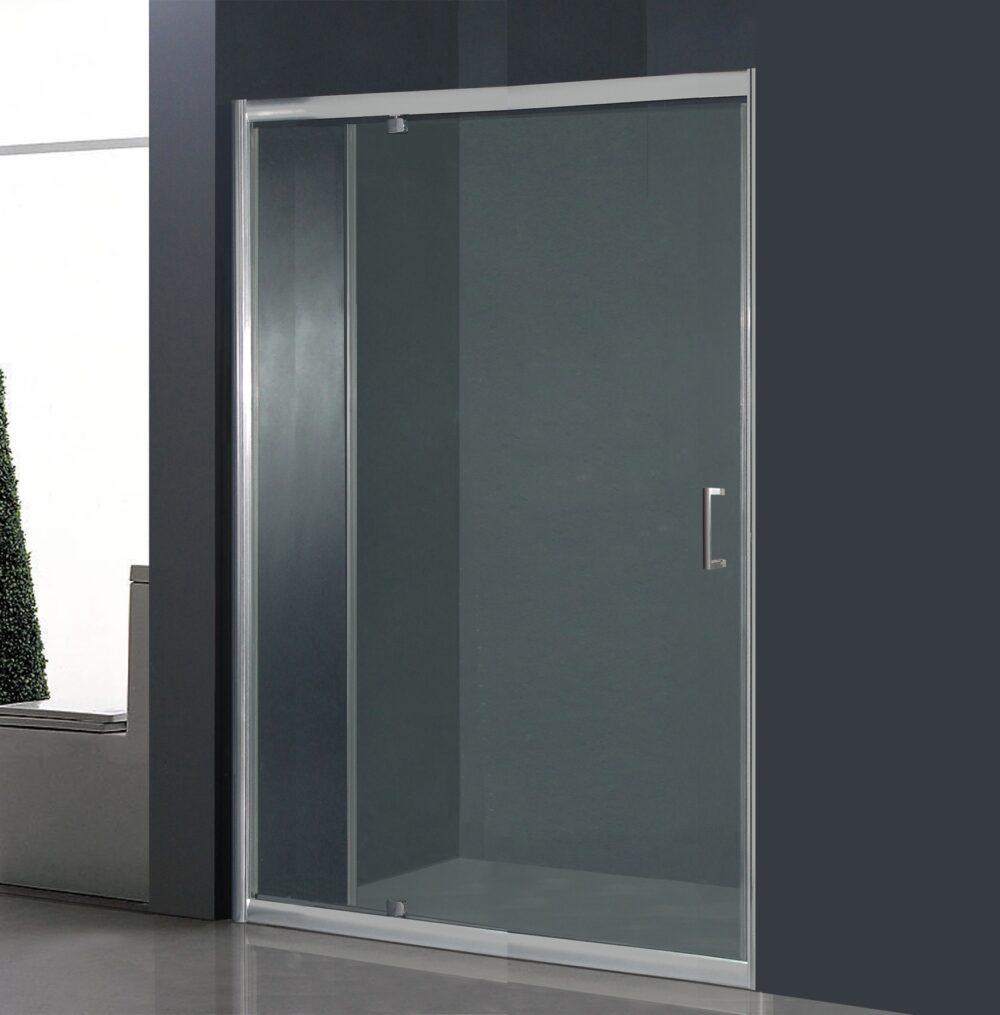 120 cm brede douche nisdeur