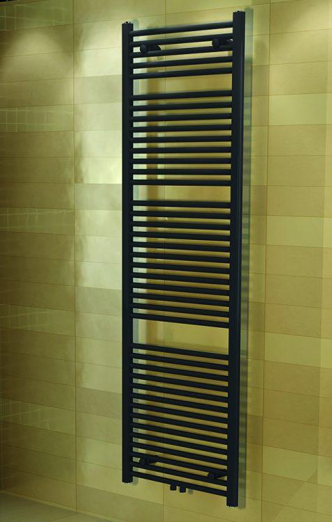 Badkamer designradiator Lineto Grijs (Ral 7015)