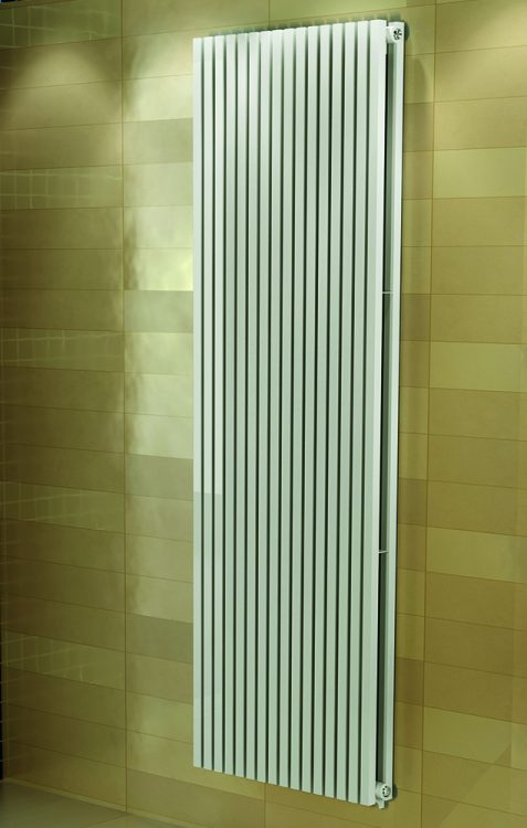 Badkamer designradiator Carpe Wit (Ral 9016)