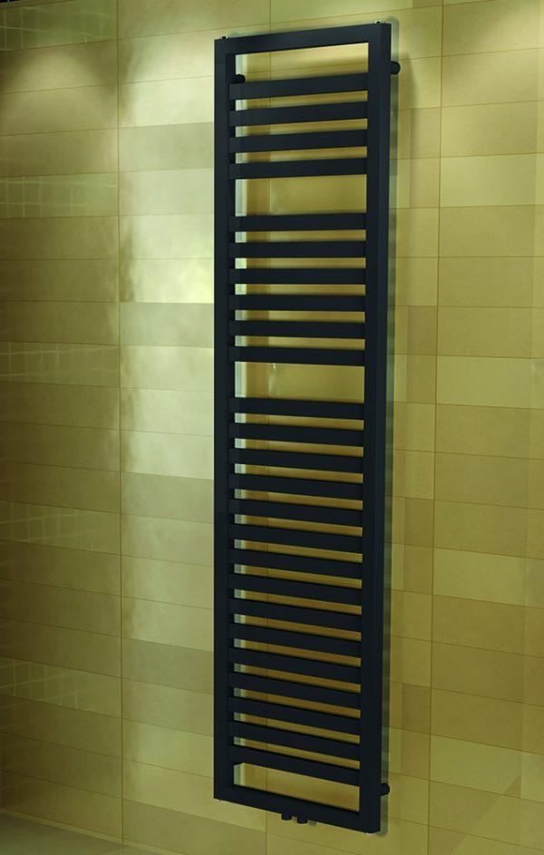 Badkamer designradiator grijs