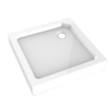 SMC opbouwdouchebak vierkant model