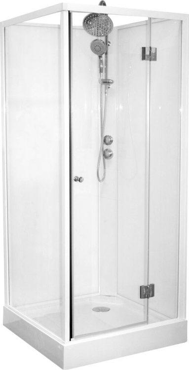 Turino 223 gesloten douchecabine met draaideur (90×90 cm)