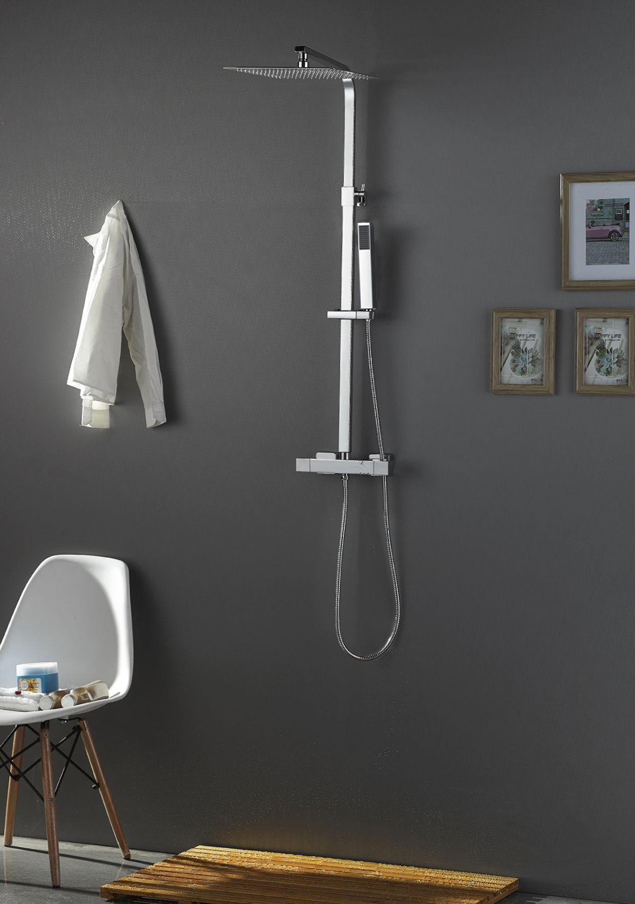 douche design 30 regendoucheset thermostaatkraan. Black Bedroom Furniture Sets. Home Design Ideas