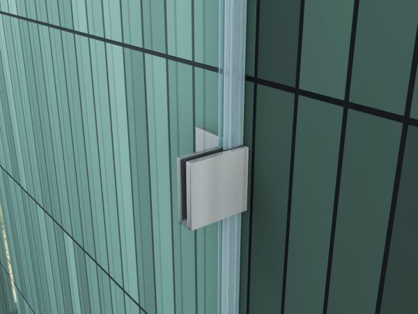 U-vorm muurprofiel douche design