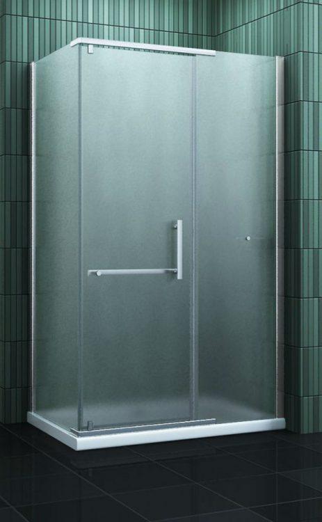 Douche Design matglas douchecabine met draaideur