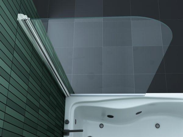 badscherm 80 x 140 cm