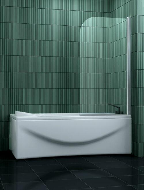 Badscherm draaibaar 80 x 140 cm