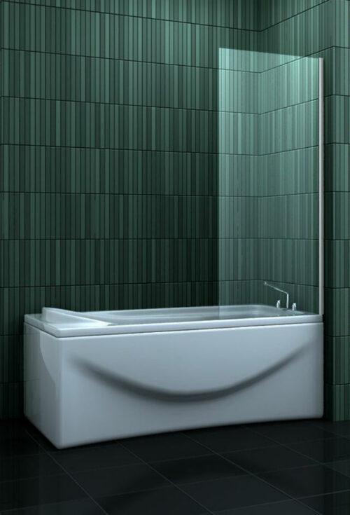 Douche Design vaste badwand 70 cm. x 140 cm.