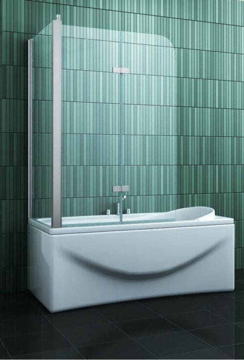 Badwand met zijwand 68-70 cm