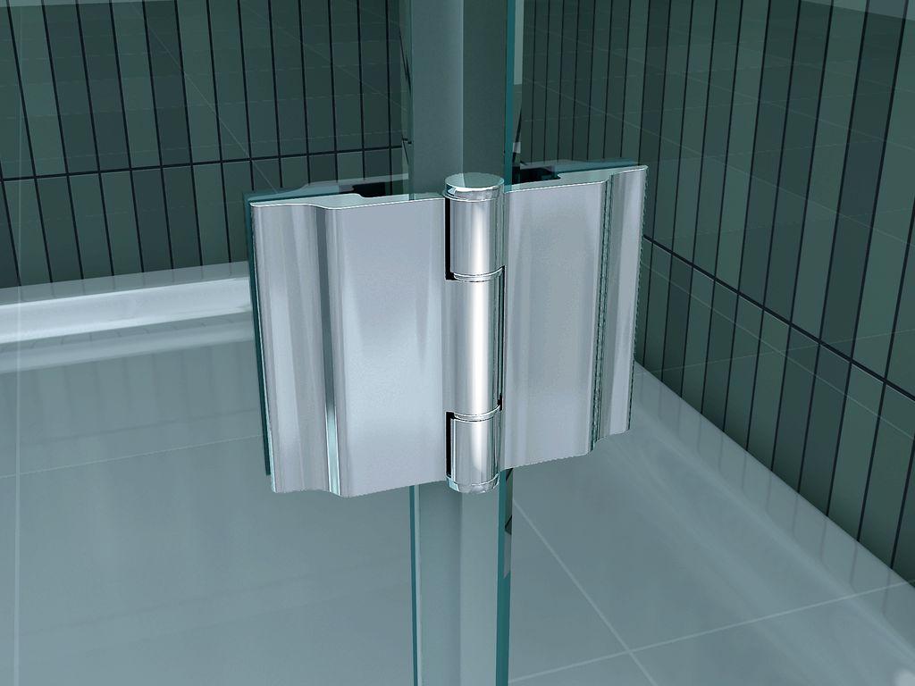 Nis douchedeur in verschillende afmetingen van cm cm