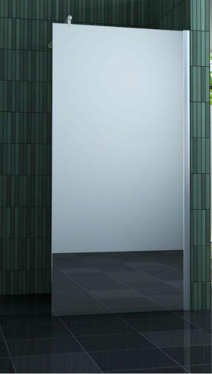 Douche Design inloopdouche met spiegelglas 100 |120 |140 cm
