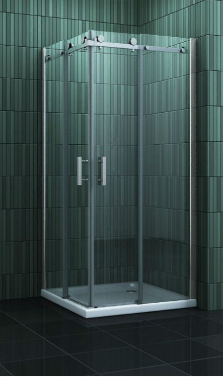 Douche Design hoekinstap schuifdeuren 80-90-100 cm