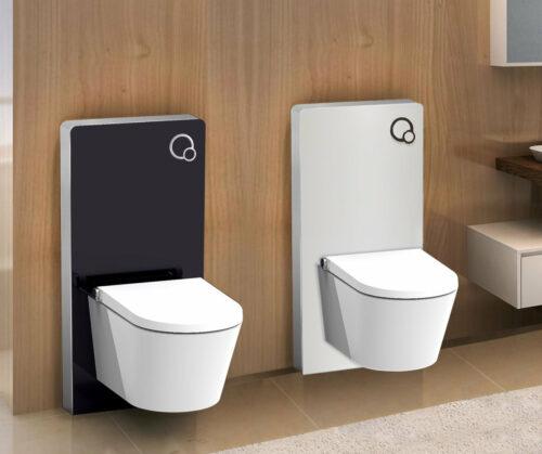 Sanitair module voor hangend toilet