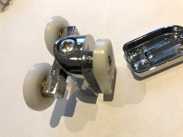 Douchecabine deurgeleider set