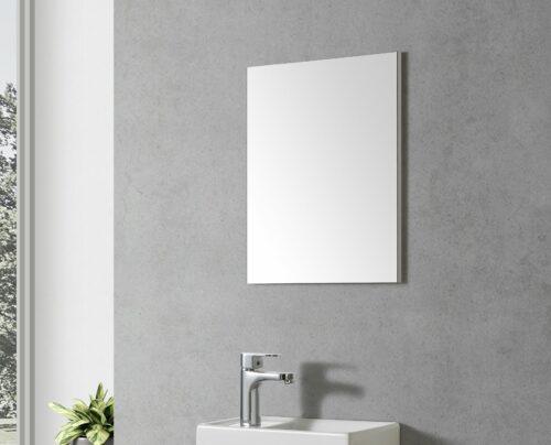 Toilet spiegel wit
