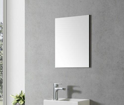 Toilet spiegel zwart