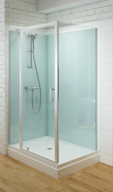 Trento Basic DW gesloten douchecabine met een draaideur