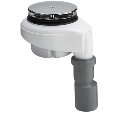 Viega Tempoplex 90 mm douchebak sifon met verticale aansluiting