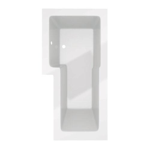 Douchebad Trento Recto 150.L zonder badwand