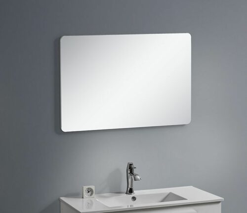 Badkamermeubel spiegel Palermo wit 60 – 90 cm