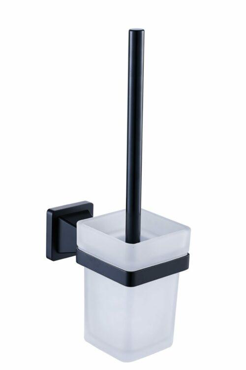 Toiletborstel houder Nero Luxury (mat zwart)